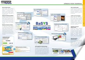 Page of the BARTHAUER BaSYS information brochure